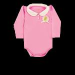 Body com Aplique Rosa Kiko Baby