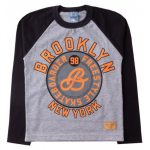 Camiseta Infantil Masculina New York Mescla - Sport Sul