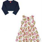 Bee Loop - Vestido de Inverno Infantil Rosa