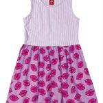 Bee Loop - Vestido Estampado Roxo