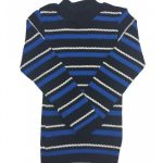 Blusão Lã Infantil Menino Listrado Azul - Remyrô