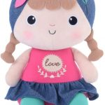 Boneca Naughty Girl Love, Metoo, Rosa, 27 cm