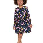 Brandili - Vestido Infantil Menina Azul