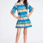 Malwee Kids - Vestido Roxo Malha Trabalhada com Cinto