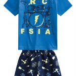 Kyly - Conjunto Infantil Azul Marinho