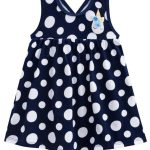 Kyly - Vestido Bebê Azul Marinho