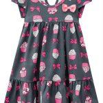 Kyly - Vestido Infantil Cinza