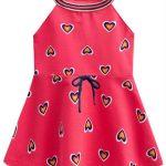 Kyly - Vestido Infantil Vermelho