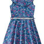 Malwee Kids - Vestido Azul com Cinto Malwee Kids