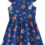 Malwee Kids - Vestido Azul Escuro Evasê Patrulha Canina®