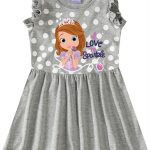 Malwee Kids - Vestido Cinza Princesinha Sofia® Malwee Kids