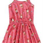 Malwee Kids - Vestido Rosa Evasê Barbie® Menina Malwee Kids