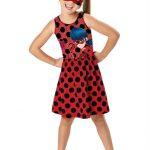 Malwee Kids - Vestido Vermelho Ladybug® Máscara Malwee Kids