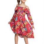 Marisol - Vestido Floral Vermelho