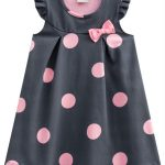 Milon - Vestido Infantil Cinza Chumbo