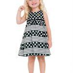 Milon - Vestido Infantil Preto