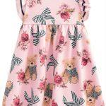 Milon - Vestido Infantil Rosa
