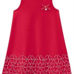 Milon - Vestido Infantil Vermelho Milon