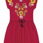 Nanai - Vestido Infantil Vermelho