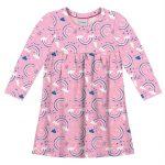 Rovitex Kids - Vestido Infantil Feminino Rosa