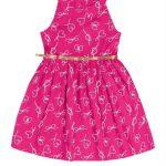 Rovitex Kids - Vestido Infantil Rovitex Kids Rosa