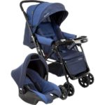 Carrinho De Bebê Travel System Reverse Azul Rajado é bom?