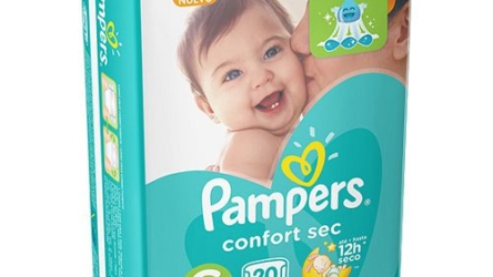 Pampers Confort Sec é boa?