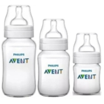 Kit 3 Mamadeiras Classic 125 260 e 330ml Anticolica Avent Philips Avent opinião