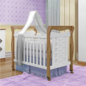 Berço Minicama Tiago Branco/Naturale – Tigus Baby
