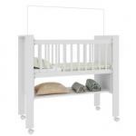 Berço Bedside Sleepers Escrivaninha Gominha Branco Art In Móveis