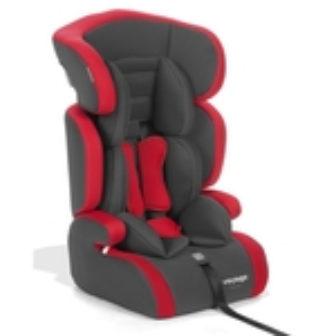 Cadeira Para Auto Racer - Chumbo E Vermelho - Voyage