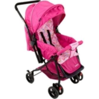Carrinho de Bebê Happy Rosa - Cosco