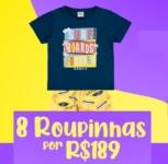 8 Roupinhas por R$ 189 – Loja Divertida Moda – Cupom de Desconto