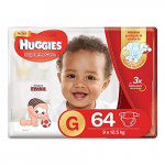 fralda huggies supreme care g 64
