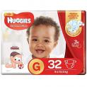 fralda huggies supreme care g 32