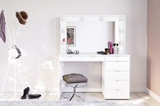 penteadeira camarim las vegas – politorno móveis – branco