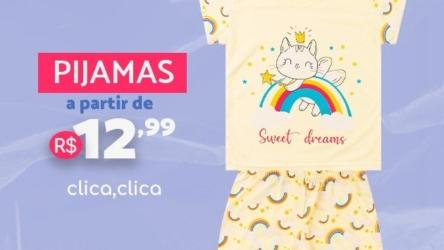 Pijamas a partir de R$12,99 – Loja Moda Love