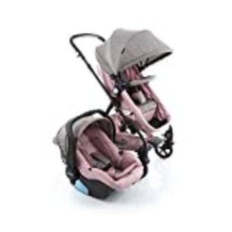 Travel System Poppy Duo Cosco Rosa Mescla